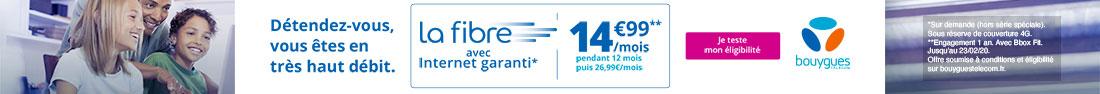 Promo Bouygues Télécom