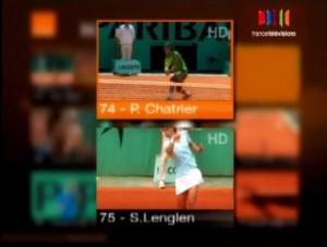 roland garros hd 2009 300x227 Roland Garros: Détail du dispositif sur Orange TV