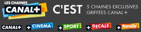 Les Chaînes Canal + - logo fin 2009