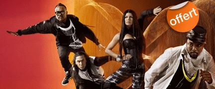 chaîne évènementielle Black Eyed Peas