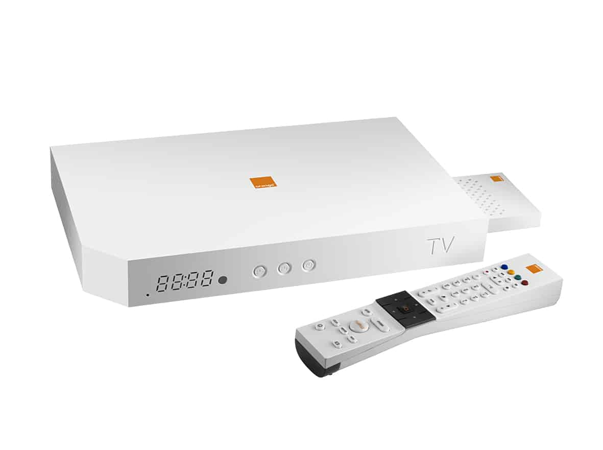 telecommande tv orange trouvez le meilleur prix sur voir. Black Bedroom Furniture Sets. Home Design Ideas