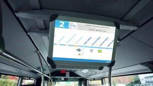 Ecran transport en commun