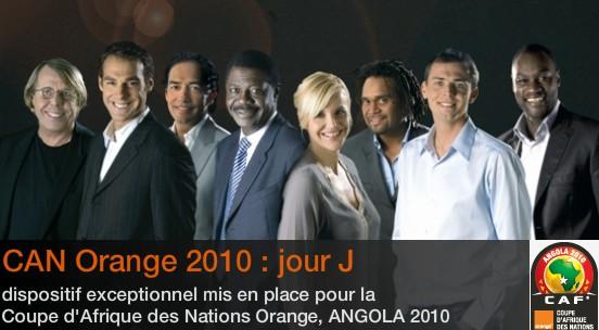Can 2010 coup d 39 envoi ce soir sur orange sport - Coupe d afrique en direct sur internet ...