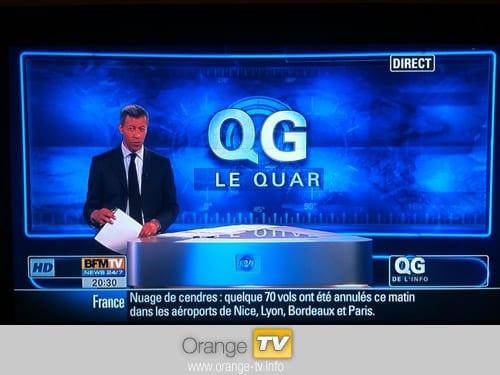BFM TV passe (enfin) en 16/9ème et en Haute Définition | Orange Info