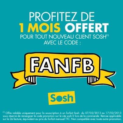 Fan Facebook Sosh