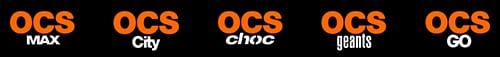 Chaînes OCS 2013