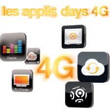 Les applis days 4G
