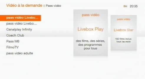 Livebox Play - Livebox Star