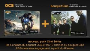 Pack Ciné Séries