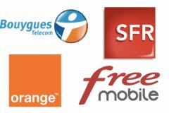 orange Free SFR Bouygues Télécom