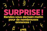 Surprises Sosh