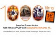 VOD 1000 films à 1€