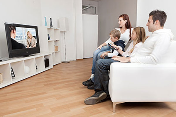 Famille famille fibre Orange TV