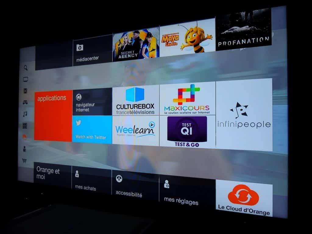 livebox play le point sur les derni res nouveaut s des applications tv orange info. Black Bedroom Furniture Sets. Home Design Ideas