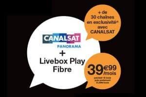 Livebox Fibre + CanalSat