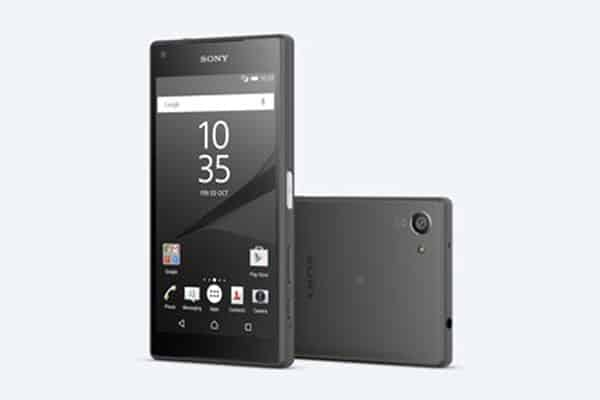 vente flash sosh 150 d 39 conomie sur le sony xperia z5 compact. Black Bedroom Furniture Sets. Home Design Ideas