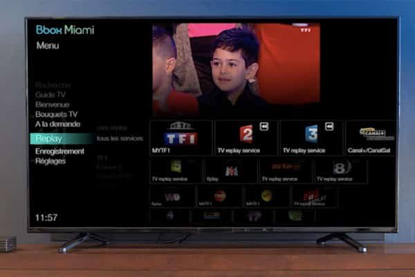 bbox miami bouygues d voile la nouvelle interface tv. Black Bedroom Furniture Sets. Home Design Ideas