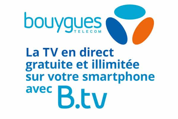 bouygues b tv gratuite et illimit e ce week end pour les clients mobile. Black Bedroom Furniture Sets. Home Design Ideas