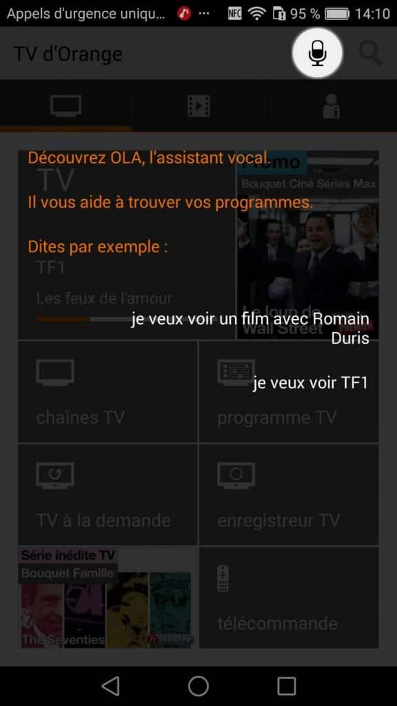 Orange lance ola son assistant vocal pour la tv d 39 orange - Application telecommande orange ...