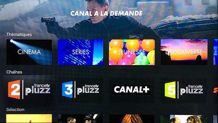 myCANAL Apple TV - A la demande