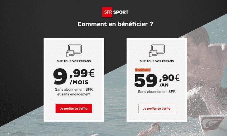 SFR Sport 100% Digital