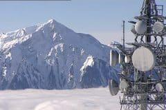 Relais mobile en montagne