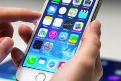 Téléphone, smartphone iphone