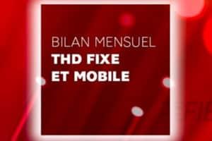 Logo bilan mensuel fibre et mobile SFR