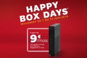 Happy Box Days Sfr Casse Les Prix Sur Sa Box Starter à Partir De 9