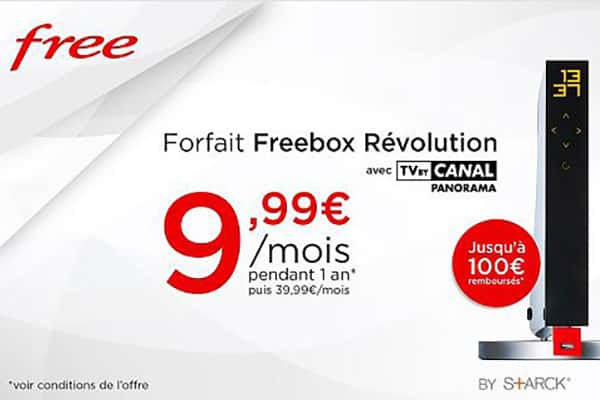 vente priv e freebox revolution pour 9 99 par mois pendant 1 an. Black Bedroom Furniture Sets. Home Design Ideas