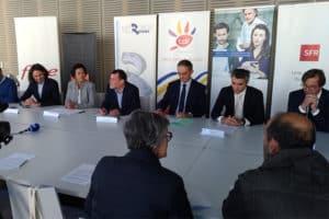 Conference de presse lancement 4G metro rennes