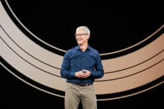Tim Cook, keynote apple septembre 2018
