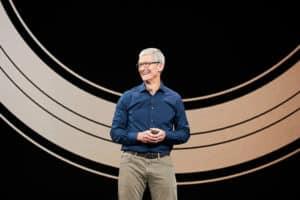 Tim Cook, keynote apple septembre 2018