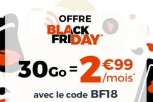 Offre Black Friday 2018 Cdiscount Mobile