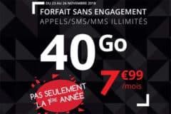 Promotion Black Friday 2018 Auchan Télécom
