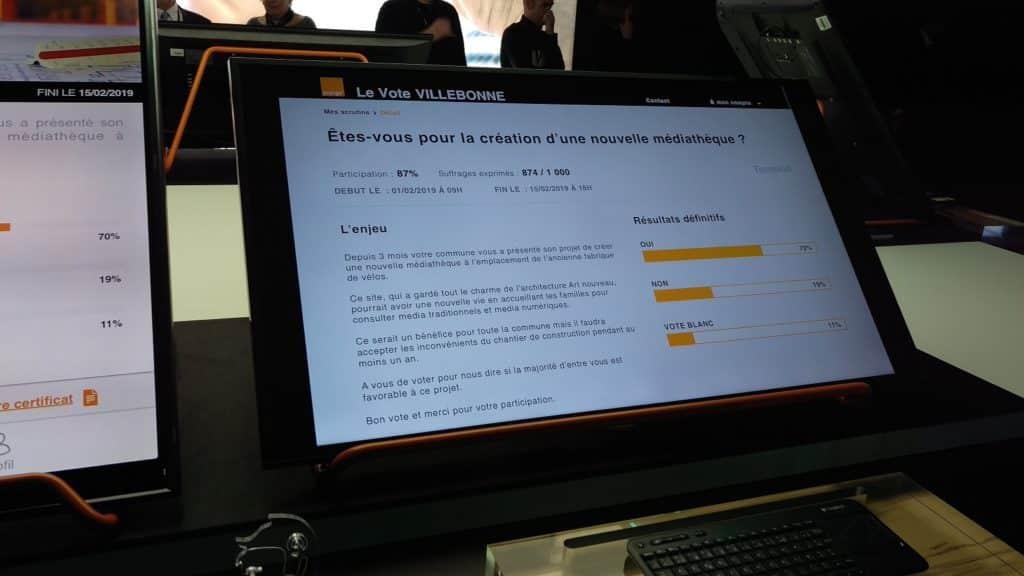 Service Le Vote Show Hello