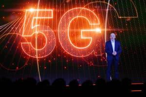 Stéphane Richard parle de la 5G lors du Show Hello 2018