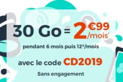 Promotion de Noël 2018 Cdiscount Mobile