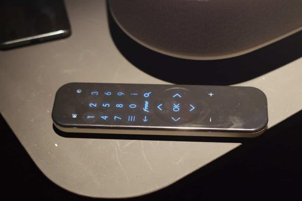 Télécommande tactile Freebox Delta