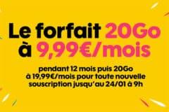 Promotion Sosh, janvier 2019