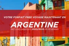 Roaming Free en Argentine