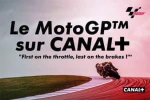 Le Moto GP débarque sur CANAL+