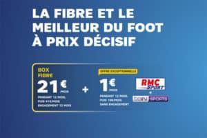 offre SFR + RMC Sport + beIN en promotion février mars 2019