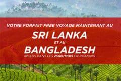 Roaming Free au Sri Lanka et au Bangladesh