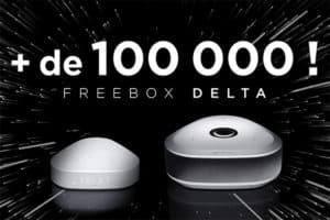 100 000 Freebox Delta pour Free