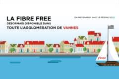 Free rejoint le RIP Rev@ et l'agglomération de Vannes