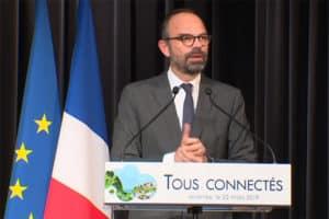 Edouard Philippe à Mirande dans le Gers