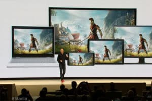 Google stadia, le cloud gaming par google