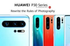 Nouvelle série Huawei P30
