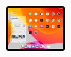 Nouvel écran d'accueil iPad